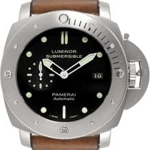Panerai Luminor Submersible 1950 3 Days Automatic Titanio 47mm Negro Sin cifras España, Madrid