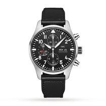 IWC Pilot Chronograph Steel 43mm Black Arabic numerals United States of America, New Jersey, Princeton