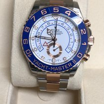 Rolex Yacht-Master II Gold/Steel 44mm White No numerals United States of America, New Jersey, wayne