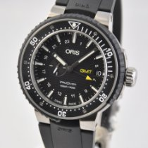 Oris ProDiver GMT Titanium 49mm Black No numerals United States of America, Ohio, Mason