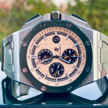 Audemars Piguet Royal Oak Offshore Chronograph Steel 44mm Champagne No numerals United States of America, Illinois, ROMEOVILLE