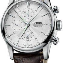 Oris Artelier Chronograph Stahl 44mm Silber Deutschland, Schwabach