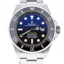 Rolex Sea-Dweller Deepsea Acier 44mm Bleu Sans chiffres Belgique, Antwerp