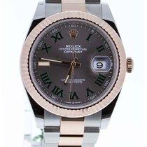 Rolex Datejust II Steel 41mm Grey Roman numerals