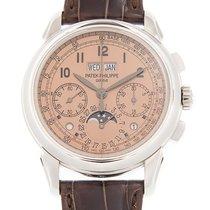 百達翡麗 Perpetual Calendar Chronograph 鉑 41mm 粉紅色 阿拉伯數字 香港