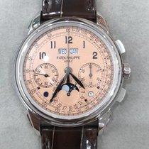 百达翡丽 Perpetual Calendar Chronograph 铂 41mm 粉红色 阿拉伯数字