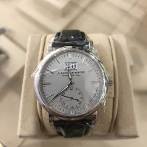 A. Lange & Söhne Saxonia White gold Silver No numerals