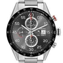 TAG Heuer Carrera Calibre 1887 Steel 43mm Grey Arabic numerals United States of America, Georgia, Atlanta