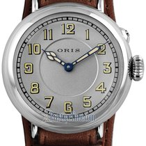 Oris Big Crown 1917 Limited Edition Steel 40mm Silver United States of America, New York, Airmont