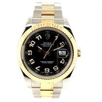 Rolex Datejust II Or/Acier 41mm Noir