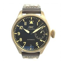 IWC Bronze Automatic Black 46mm pre-owned Big Pilot