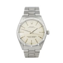 Rolex Oyster Perpetual 34 Сталь 34mm Cеребро