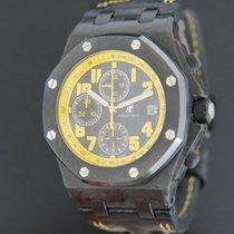 Audemars Piguet Carbone Remontage automatique Noir 42mm occasion Royal Oak Offshore Chronograph