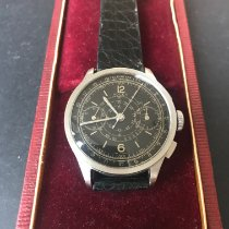 Rolex Chronograph Steel 36mm Black Arabic numerals