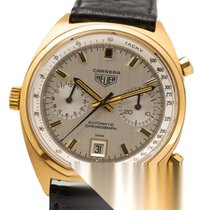 Heuer Yellow gold 38mm Automatic 1158 pre-owned