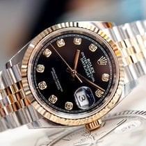 Rolex Datejust Gold/Steel 36mm Black Thailand, Bangkok