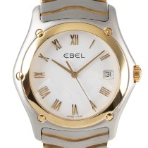 Ebel Classic Gold/Steel 38mm White