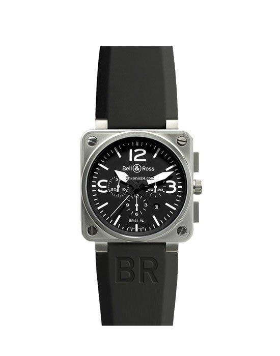 Bell & Ross BR 01-94 Chronographe BR0194-BL-ST pre-owned