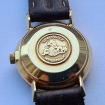 Omega Žluté zlato Automatika Šampaňská barva Bez čísel 27mm použité Seamaster DeVille