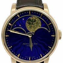Arnold & Son HM Perpetual Moon Red gold 42mm Blue No numerals United States of America, Florida