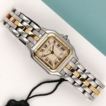 Cartier Panthère tweedehands 27mm Champagne Goud/Staal
