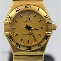 Omega Constellation Quartz Gelbgold 25mm Gold