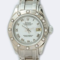 Rolex 80319 Or blanc 2002 Lady-Datejust Pearlmaster 29mm occasion