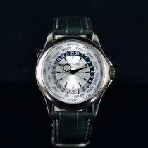 Patek Philippe World Time Or blanc 39.5mm Argent Sans chiffres France, Paris