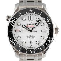Omega Seamaster Diver 300 M Acier 43mm Blanc