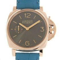 Panerai Automatic Grey Arabic numerals 42mm new Luminor Due