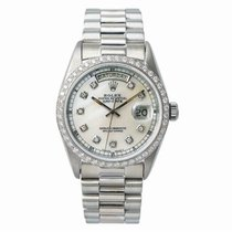 Rolex 18039 White gold 1980 Day-Date 36 36mm pre-owned United States of America, New York, New York