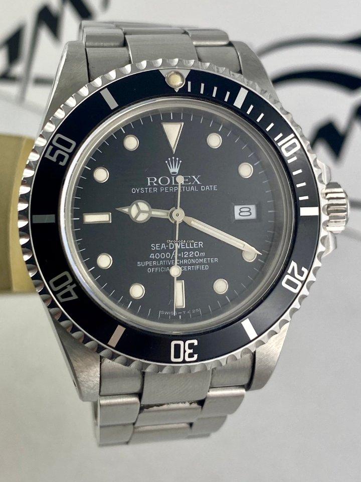 Rolex Sea-Dweller 16660 Triple Six 1986 rabljen