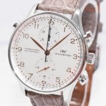 IWC Portugieser Chronograph Stahl 41mm Silber Arabisch Deutschland, Hamburg