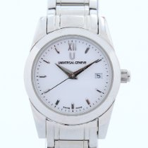 Universal Genève Watch pre-owned Steel 27mm No numerals Quartz Watch only