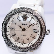 Versace Ceramic Automatic White 41mm pre-owned