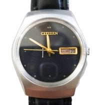 Citizen pre-owned Automatic 40mm Black Mineral Glass 2 ATM