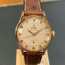 Omega Rose gold Automatic Grey No numerals 36mm pre-owned Constellation