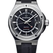 Eterna Steel 42mm Automatic 7740.40.41.1289 new