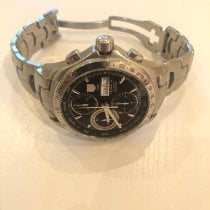 TAG Heuer pre-owned Automatic 42mm Black Sapphire crystal 20 ATM
