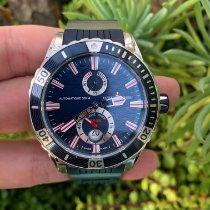 Ulysse Nardin Diver Chronometer pre-owned 44mm Blue Date Rubber