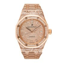 Audemars Piguet Royal Oak Lady Rose gold 37mm Transparent No numerals United States of America, New York, New York