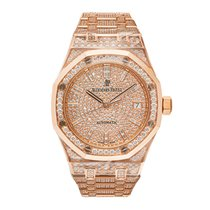 Audemars Piguet Royal Oak Lady 15452OR.ZZ.1258OR.02 Unworn Rose gold 37mm Automatic