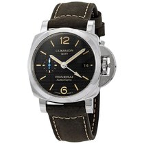 Panerai Luminor 1950 3 Days GMT Automatic Steel 42mm Black