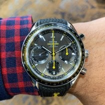 Omega Speedmaster Racing Steel 40mm Grey No numerals United States of America, Pennsylvania, Lancaster
