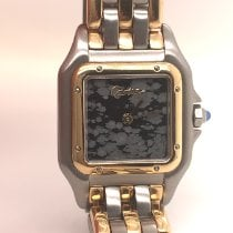 Cartier Panthère Gold/Steel 22mm Grey Roman numerals United States of America, New York, New York
