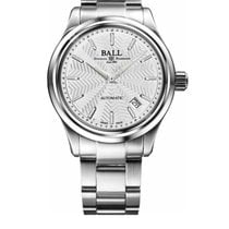 Ball Trainmaster Steel 39mm Silver No numerals United States of America, New Jersey, River Edge