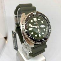 Seiko Prospex Steel 45mm Green No numerals United States of America, New York, NY