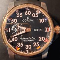 Corum Admiral's Cup Competition 40 Złoto różowe Czarny Arabskie