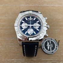 Breitling Chronomat 44 Steel 44mm Black No numerals United States of America, New Jersey, Edgewater