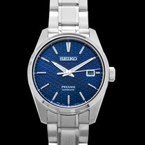 Seiko Presage Steel 39.30mm Blue United States of America, California, Burlingame